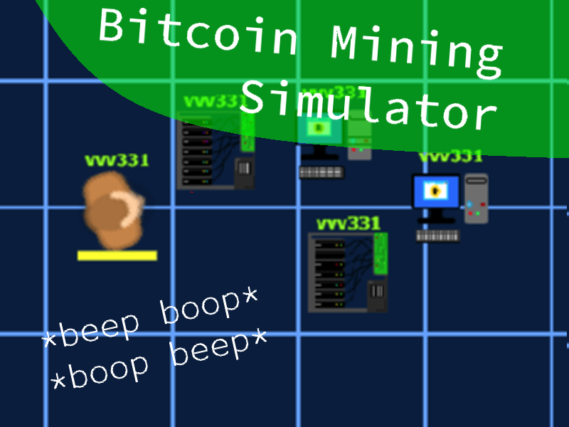 Bitcoin Mining Simulator (Update)