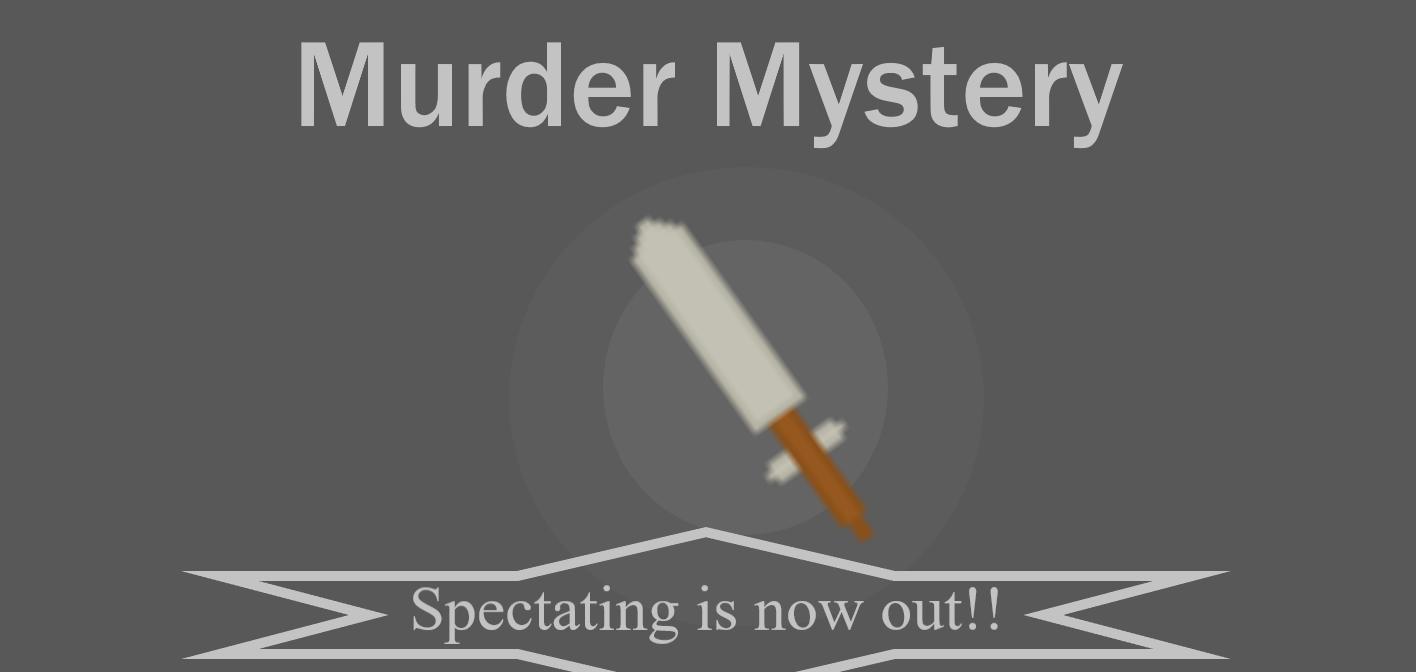 Murder Mystery (back!)