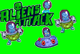AliensAttack.io (X3 points event)